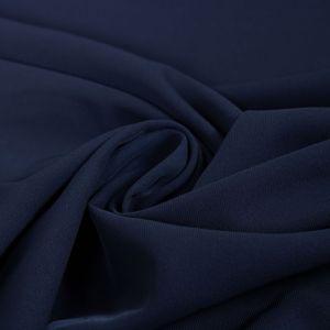 Tecido Crepe Nuage Span Azul Marinho