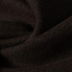 Tecido Lã Batida Marrom Noite
