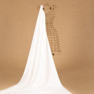 Tecido Alfaiataria Dior Acetinada Poá Branco