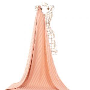 Tecido Alfaiataria Dior Listras Acetinadas Rosê Nude