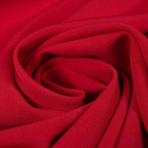 Tecido Alfaiataria Dior Vermelho Cereja