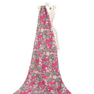 Tecido Bengaline Estampa Indiana Pink