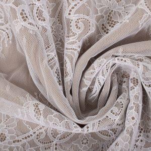 Tecido Bico de Renda Chantilly Branco - 40 cm