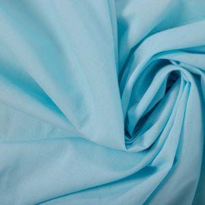 Tecido Cambraia de Algodão Azul Celeste