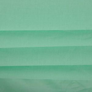 Tecido Cambraia de Algodão Verde Menta Intenso