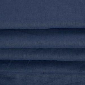 Tecido Cambraia de Linho Misto Azul Denim