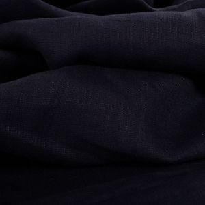 Tecido Cambraia de Linho Puro Azul Marinho