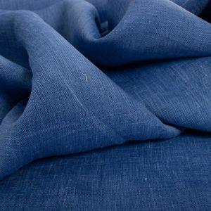 Tecido Cambraia de Linho Puro Mescla Azul Bic Claro