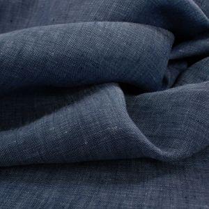 Tecido Cambraia de Linho Puro Mescla Azul Jeans