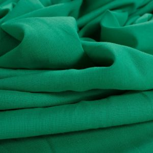 Tecido Cambraia de Viscose com Linho Verde Esmeralda Claro