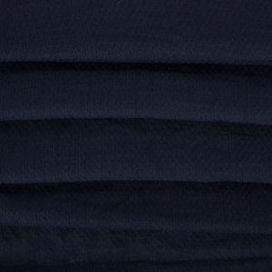 Tecido Cambraia Mista Colméia Azul Marinho