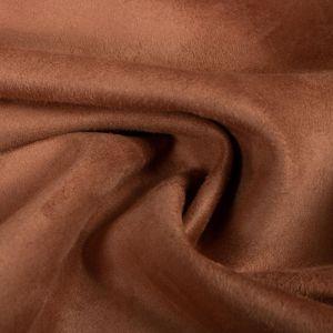 Tecido Camurça Marrom Bronze Claro
