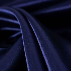Tecido Cetim Charmousse Azul Marinho