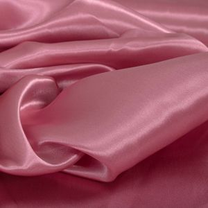 Tecido Cetim Charmousse Rosa Blush Rosado