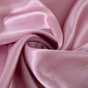 Tecido Cetim de Seda Pura Cor de Rosa Queimado