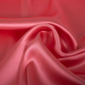 Tecido Cetim de Seda Pura Span Rosé