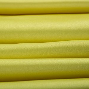 Tecido Cetim Duchesse Span Amarelo Limão