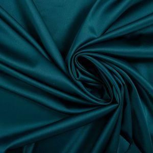 Tecido Cetim Gloss Azul Petróleo