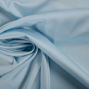 Tecido Cetim Light Gloss Azul Bebê