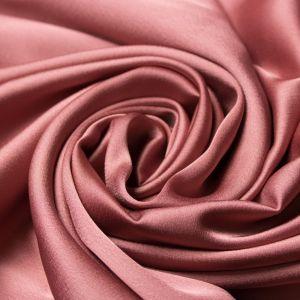 Tecido Cetim Toque de Seda Rose Escuro