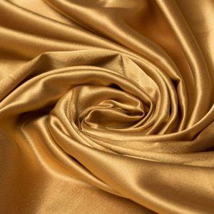 Tecido Cetim Mellow Dourado