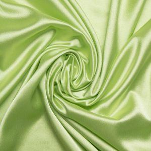 Tecido Cetim Mellow Span Verde Alface