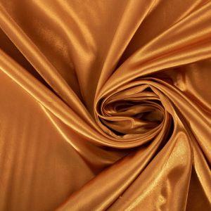 Tecido Cetim Span Amarelo Dourado