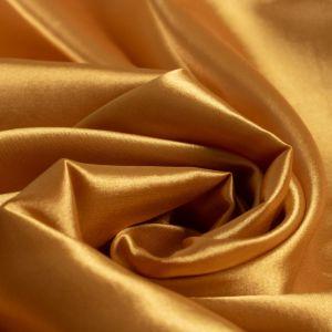 Tecido Cetim Span Amarelo Ouro