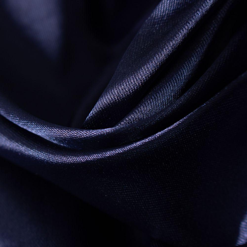 Tecido Cetim Span Azul Marinho