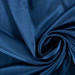 Tecido Cetim Span Azul Petróleo