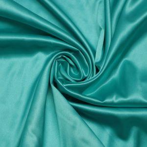 Tecido Cetim Span Azul Turquesa
