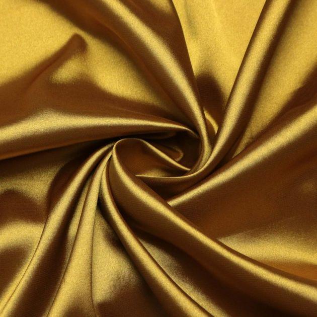 Tecido Cetim Span Dourado
