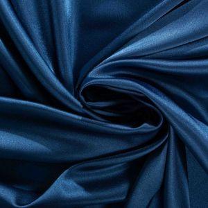 Tecido Cetim Span Premium Azul Petróleo