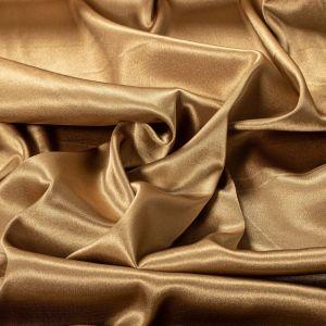 Tecido Cetim Span Premium Dourado Envelhecido