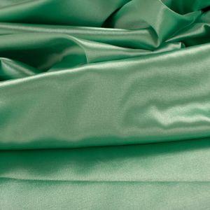 Tecido Cetim Span Verde Jade Intenso