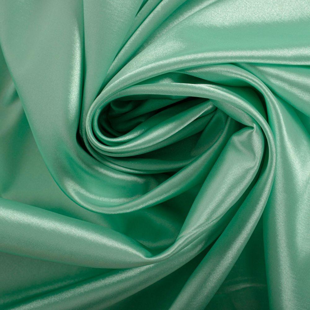 Tecido Cetim Span Verde Tiffany