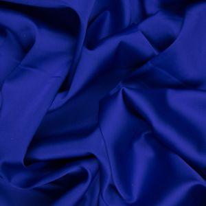 Tecido Cetim Toque de Seda Azul Bic