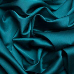 Tecido Cetim Toque de Seda Azul Petróleo