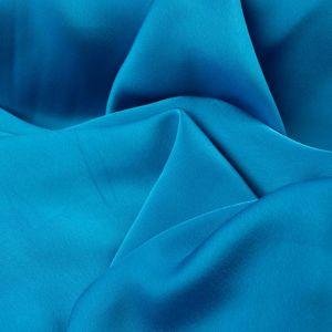 Tecido Cetim Toque de Seda Azul Turquesa