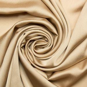 Tecido Cetim Toque de Seda Dourado Queimado