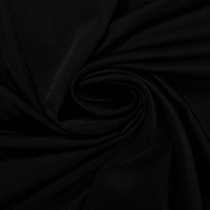 Tecido Cetim Toque de Seda Premium Preto