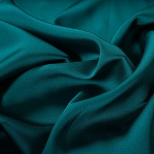 Tecido Cetim Toque de Seda Verde Turquesa