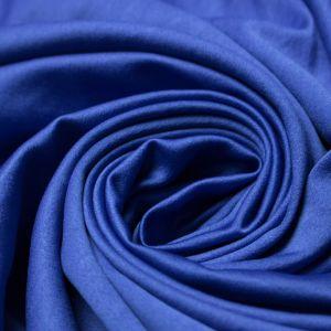 Tecido Cetim Vitória Azul Royal