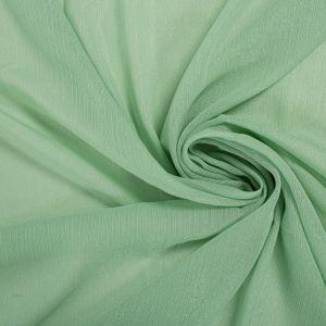 Tecido Chiffon com Fio Lurex Verde Jade Claro