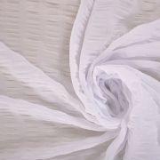 Tecido Chiffon Lastex Branco