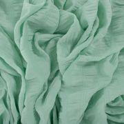 Tecido Chiffon Lastex Verde Menta