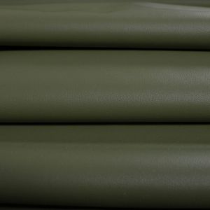 Tecido Couro Span Verde Militar