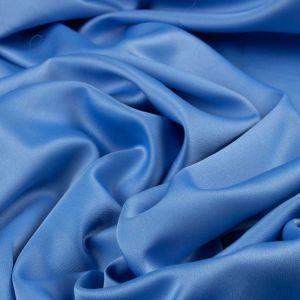 Tecido Crepe Amanda Premium Azul Céu Escuro