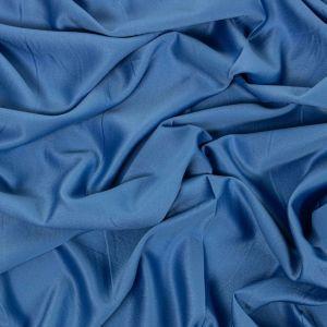 Tecido Crepe Amanda Premium Azul Denin
