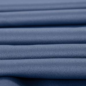 Tecido Crepe Amanda Premium Azul Serenity Escuro